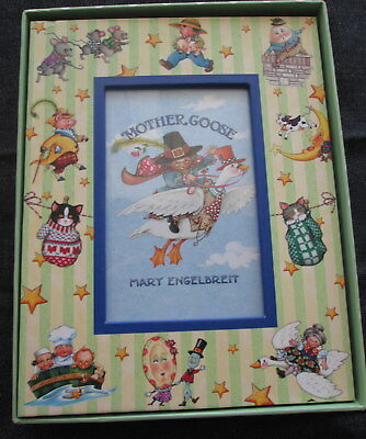 NEW MARY ENGELBREIT BABY PAPER STUDIO MOTHER GOOSE FRAME 7x9 w 4X6 PHOTO opening