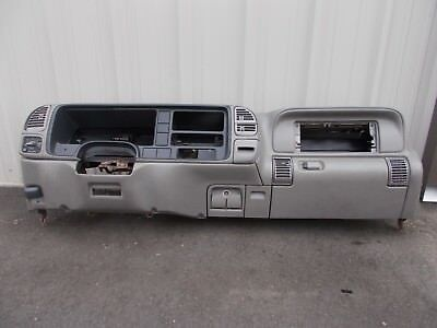 1995 1998 Chevy Gmc Truck Tahoe Suburban Dash Frame Panel Gray Trim 13c 1 132