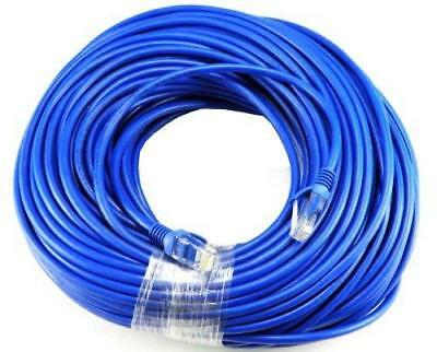 Ethernet Cable 50ft Cat5 Network Internet Router Modem Computer DSL High Speed