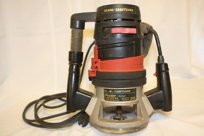 Sear Best Craftsman 2 Hp Router Variable 8 Speed