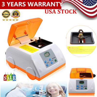 Dental Fast High Speed Amalgamator amalgam Capsule Mixer LCD Display 110V 20W US