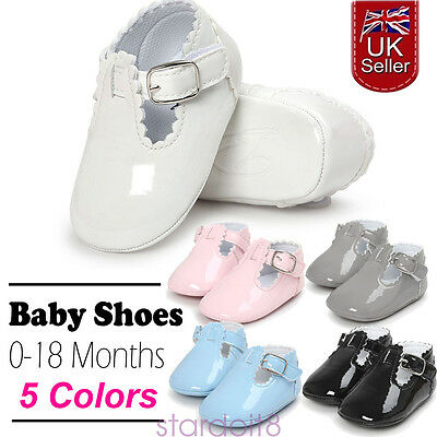 Fashion Infant Baby Boy Girl Pram Shoes First Shoes Toddler Pre Walking Trainers