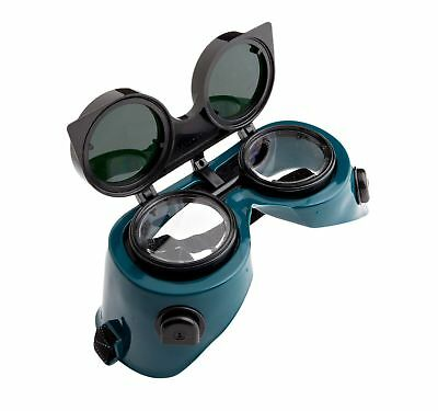 Forney 55315 Goggles, Oxygen-Acetylene, Lift Front with 50MM Round Lens, ... New
