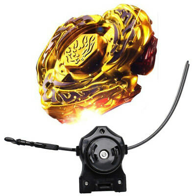 Limited Edition Fusion Metal Master Rapidity 4D Beyblade With Power Launcher GO