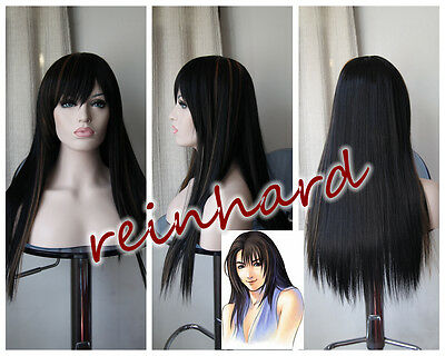 Final FantasyVIII - Rinoa Heartilly Cosplay Anime Full Wig
