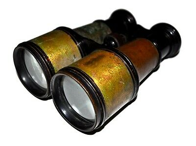 Rare Antique WWI Vintage Busch Jena Special German Binoculars Made in Germany