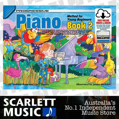 Progressive Piano Method Young Beginners Book 2 ( Two ) w/Online Audio & Video