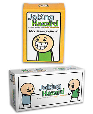 Joking Harzard Cyanide & Happiness | Deck Enhancement #1 Kickstarter Card Game