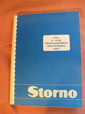 Storno CQM9330 Service Manual B I  Stornophone 9000 Publication No: 8321.9330-00