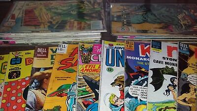 Vintage Comics Lot! Dell, Gold keys, Charltons! Silver age & Bronze! 1st issues!