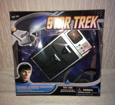 Star Trek TOS Medical Tricorder Replica light + sound Mc Coy, Mr Spock, Diamond