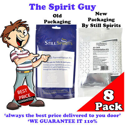 AIR STILL - FERMENTATION KIT X 8 PACKS @ $56.00 By STILL SPIRITS - 50601
