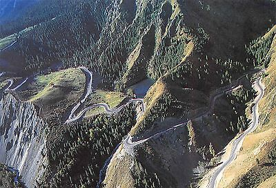 China A winding path leading to a secluded Air view Road