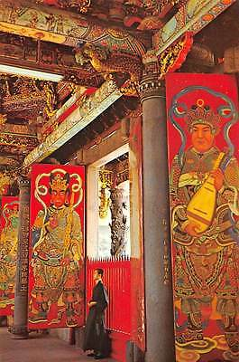 China The Middle Gate of the Temple T'ang Generals Acting as Door Guardians