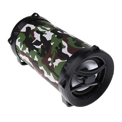 Portable Bluetooth Speaker Enhanced Bass 8 Hours Play Time for Outdoor Home