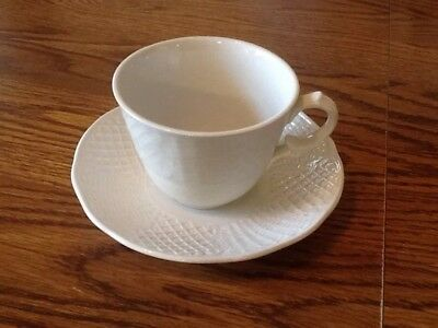 """Antique """"Marlborough Old English Ironstone"""" By Simpsons Cup & Saucer England"""
