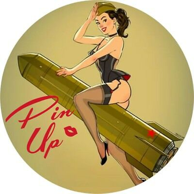 Pin Up Girl  Hot Rat Rod Stickers Vintage Classic Car Decals Sexy Retro look 04