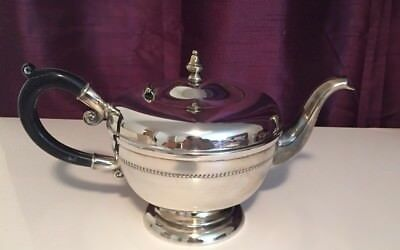 Vintage Silver VIKING PLATE Tea pot