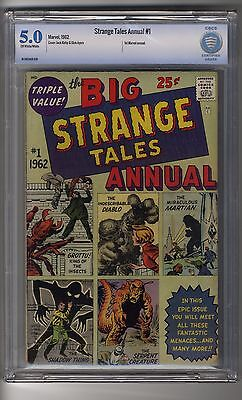Strange Tales Annual # 1 - CBCS Graded 5.0 OW/White Pages