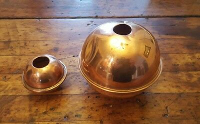 "2 Copper Spacer Balls for Weathervane 4"" & 2"" Good Directions? Weather Vane"