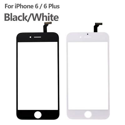 Front Touch Screen Digitizer Glass + Frame Repair Parts For iPhone 6 6 Plus New