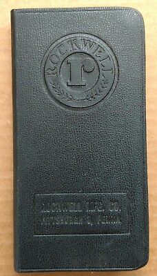 Rockwell Manufacturing Meter and Valve Divisions Water Works Handbook