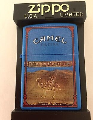 "Camel ""Camel Inca Sand  "" Post Card Series 1 Zippo Lighter"