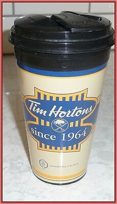 Tim Hortons Buffalo Sabres Harbor Center Travel Mug Bin Free Ship!
