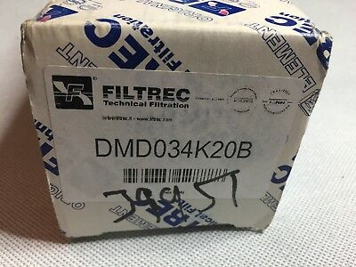 Filtrec DMD034K20B Hydraulic Filter