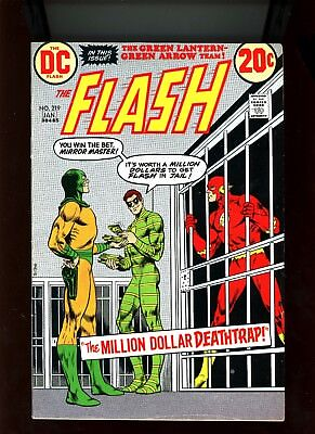 "1973 DC Comics ""Flash"", # 219, Mirror Master & The Top, FN/VF, BX55."