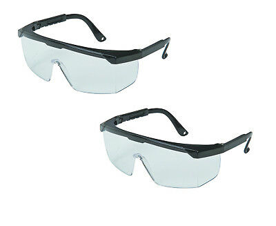 2 x Medical Trauma Eye Shields SAFETY GLASSES Blood Splash Protection Goggles