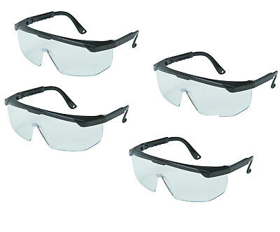 4 x Medical Trauma Eye Shields SAFETY GLASSES Blood Splash Protection Goggles