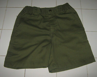 Boy Scouts of America BSA Olive Green Shorts Size 10 Waist 25