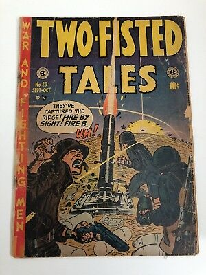 Two-Fisted Tales 1952 Vol 1 No. 29 comic book