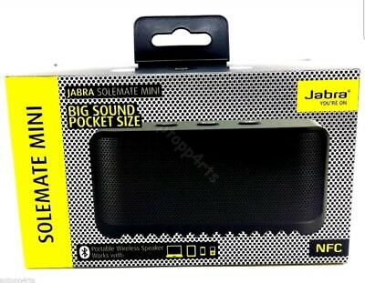 Jabra Solemate Mini Portable Wireless Bluetooth Speaker Apple iPhone 6 Plus 6