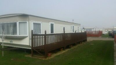 8 Berth Static caravan for hire ingoldmells the chase caravan park