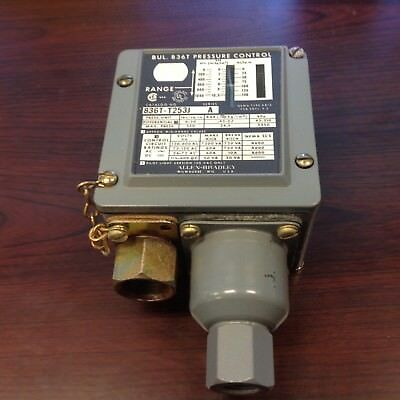Allen Bradley Industrial Pressure Switch 836T-T253J Series A