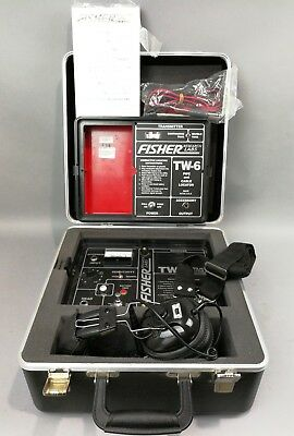Fisher Two Box TW-6 Pipe & Cable Split Box Locator A+++