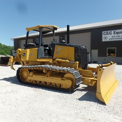 2014 Dozer John Deere 700K LGP Cab Heat A/C Very Nice shape! LOW HOURS!