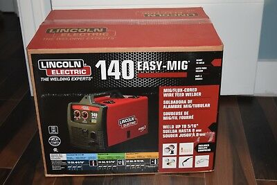 Lincoln Electric 140 Easy-Mig Mig/flux Wire Feed Welder, K2697-1