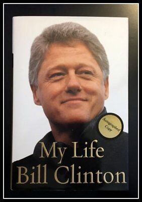 AUTOGRAPHED SIGNED My Life by President BILL CLINTON 1ST Ed with COA & Free SHIP