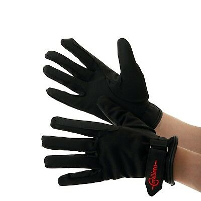 (XX-Small, Black) - Covalliero Winter Riding Malmo Gloves. Free Shipping