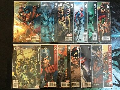 Marvel Comics The Ultimates 2 Lot, Issues 1-11, 13 & Annual 1