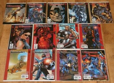 Complete Set Of The Ultimates Vol.1 #1-13 Marvel Limited Series