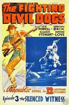 The Fighting Devil Dogs Cliffhanger Serial 12 Chapters 2 Dvds