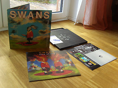 Swans - Love of life & White Light From The Mouth Of Infinity 3LP Vinyl Box Set