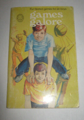 Boy Scout Association of Canada Games Galore  Fun tested games for all boys 1971