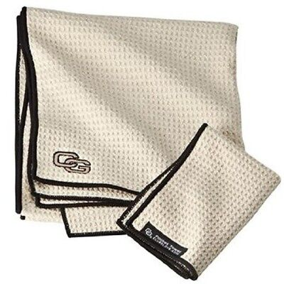 (Oat) - Club Glove Microfiber Caddy Towel. Shipping Included