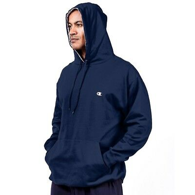 (XX-Large, Navy) - Champion Big and Tall Fleece Pullover Hoodie