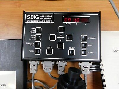 SBIG Astronomical Instruments ST-4 Star Tracker Imaging Camera CPU and Head